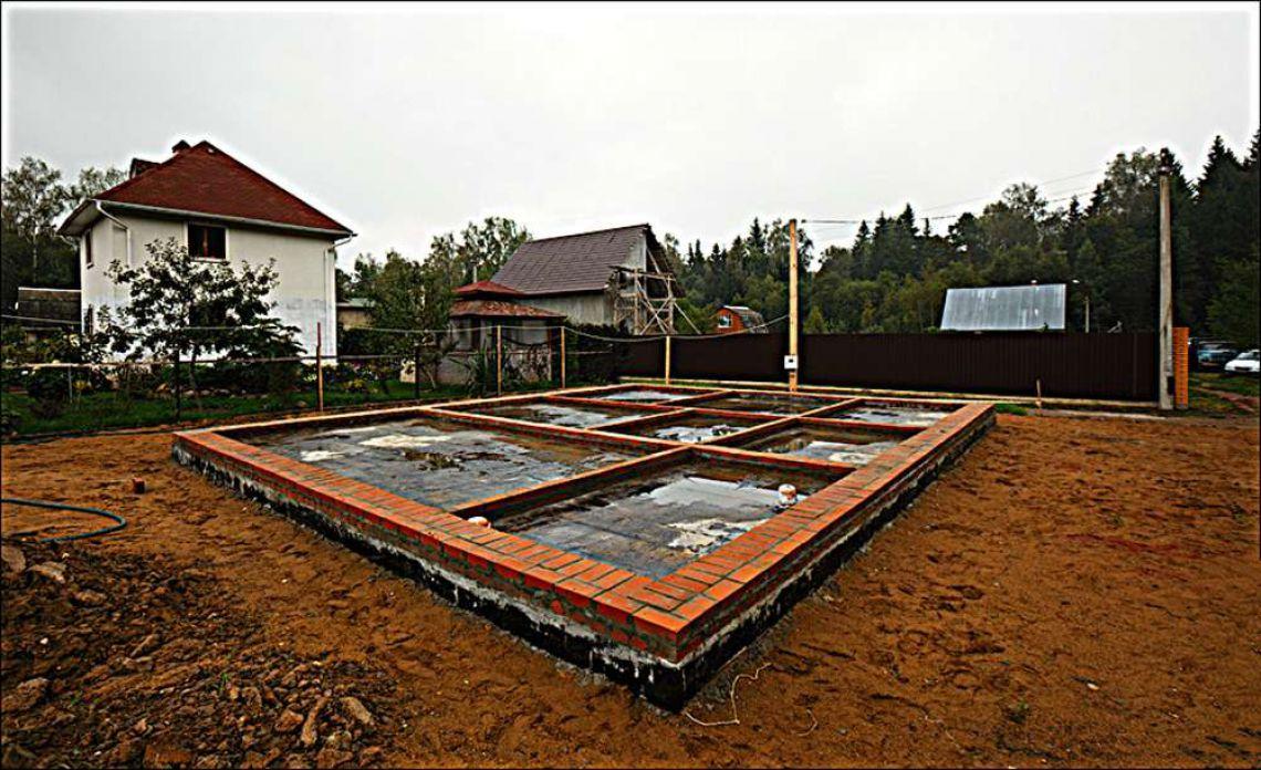 Строительство дома на земле своими руками 76